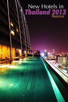 New Hotels & Resorts in Thailand 2013 Masterlist