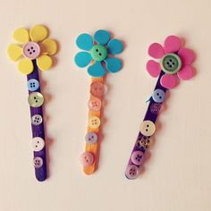 button bookmarks mothers day gift