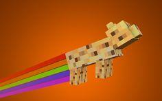 Ocelot as Nyan cat!