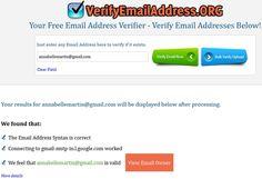 Des services de vérification d'adresses #mail !