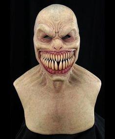 Translucent Porcelain Royalton China Co Arte Horror, Horror Art, Old Man Mask, Disfraz Star Wars, Latex Cosplay, Jugendstil Design, Monster Mask, Teeth Shape, Silicone Masks