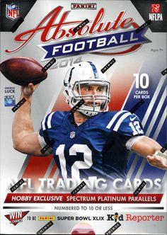 940d86e4694 2014 Panini Absolute Memorabilia Football FACTORY SEALED Hobby 10 Box Case Football  Trading Cards