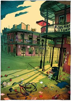 Journey to New Orleans: An imaginary trip to the city of jazz dreams - Olivier Bonhomme