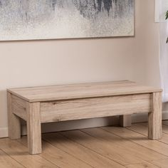Found it at AllModern - Boustrophedon Coffee Table with Lift Top