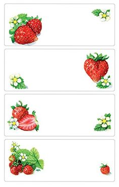 Strawberry Clipart, Homemade Cookbook, Canning Jar Labels, Canned Butter, Jam Label, Strawberry Decorations, Homemade Stickers, Printable Pictures, Tumblr Stickers