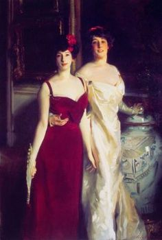 Singer Sargent- I love this picture because of the dresses and the fact that they are sisters, I love my sisters!