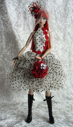 Magdalena - Polka Dot Punk bride | Flickr - Photo Sharing!