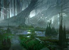 Forest by jungpark on DeviantArt