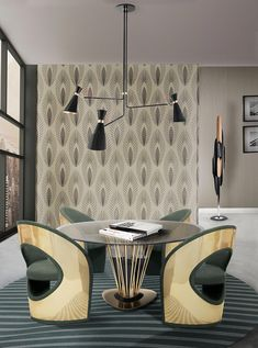 Take a look at this amazing home interior design trends and how they fit perfectly into your dining room decor! Interior Design Minimalist, Luxury Interior Design, Best Interior, Brown Interior, Luxury Decor, Cafe Interior, Decoration Inspiration, Dining Room Inspiration, Interior Design Inspiration