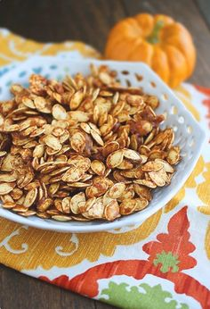 Salted Caramel Pumpkin Seeds