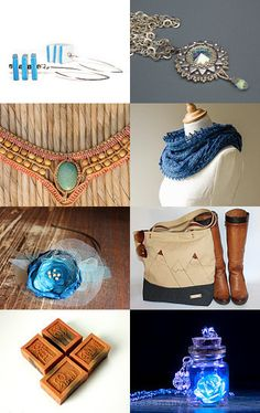 Brown and blue by Csilla on Etsy--Pinned with TreasuryPin.com Picture Collection, Collections, Brown, Blue, Etsy, Beautiful, Chocolates