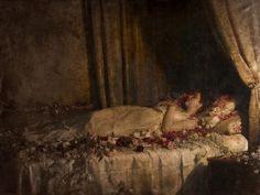 The Death of Albine (1898), by John Collier (1850-1934)