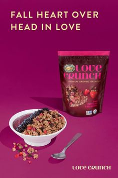 43 best love crunch recipes images on pinterest crunch recipe deal with tomorrows problems tomorrow today have some love crunch granola ccuart Images