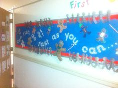 The Gingerbread Man classroom display photo - SparkleBox