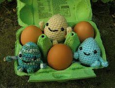 Little Eggie Amigurumi Pattern
