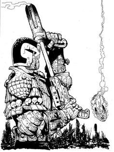 Judge Dredd - Carlos Ezquerra