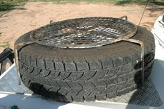 camping table spare tyre - Google Search