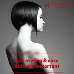 One without the other won't be as impressive. Come to Jawed Habib Salons for the best possible #HairStyling and #HairCare.  #JawedHabib #Style #Fashion #hair #tip #protip #hairexpert