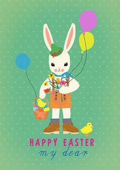 Bunny boy easter by Sevenstar aka Elisandra, via Flickr