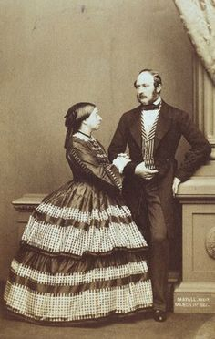 Queen Victoria & Prince Albert during their engagement