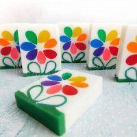Мастер-класс по изготовлению нарезного мыла из основы «Семицветик».