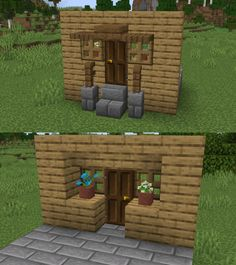 Top Funny Memes About Minecraft & Minecraft Meme Clean Minecraft Bauwerke, Easy Minecraft Houses, Minecraft House Designs, Minecraft Decorations, Minecraft Construction, Amazing Minecraft, Minecraft Tutorial, Minecraft Blueprints, Minecraft Creations