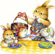 """Snuggle Bunnies"" L. C. Falken (Author), Lisa McCue (Illustrator)"