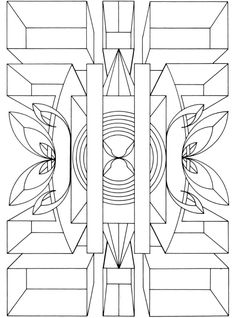 Dover Sampler - Creative Haven Geometric Designs Collection Coloring Book Pattern Coloring Pages, Mandala Coloring Pages, Colouring Pages, Printable Coloring Pages, Adult Coloring Pages, Coloring Sheets, Coloring Books, Doodle Coloring, Free Coloring