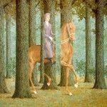 René Magritte, uno de los más célebres representantes del surrealismo creó escenarios inusitados con los que constituyó la peculiaridad que lo hace único