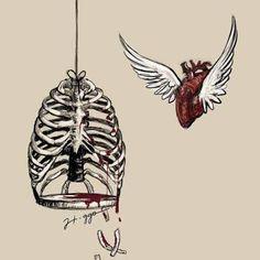 Resultado de imagem para coração sombreado desenho