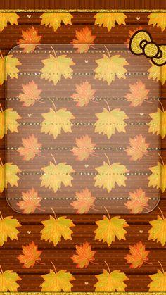 #digitalcutewalls Thanksgiving Wallpaper, Holiday Wallpaper, Fall Wallpaper, Happy Thanksgiving, Wallpaper Backgrounds, Hello Kitty Backgrounds, Hello Kitty Wallpaper, Summer Wallpaper Phone, Matching Wallpaper