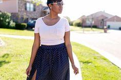 Tutorial: Maxi Skirt with High Split Skirt: DIY (Tutorial below) Maxi Skirt Winter, Diy Maxi Skirt, Diy Dress, Dress Ideas, Diy Circle Skirt, Circle Skirt Tutorial, Girl Dress Patterns, Skirt Patterns, Coat Patterns
