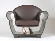 Hollow Chair, An Armchair That Doubles as a Storage Space #forniture #Dog