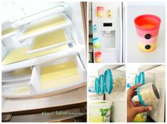 Fridges can get pretty messy and pretty gross, and it's not really avoidable. I mean they're holding drinks and perishables, so I…