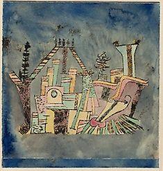 Paul Klee German, born Switzerland, 1879-1940, Garden on Debris