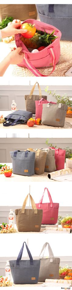 US$9.99 + Free shipping.Large capacity multi-pocket, can placed so many items in it.Inside is made from thermal insulation material.Suitable to carry it outside for picnic or any other occasion.