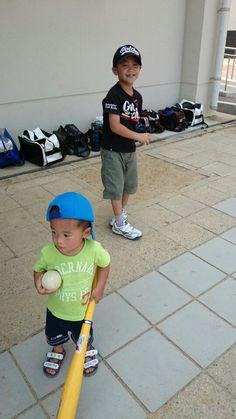 野球するの~!