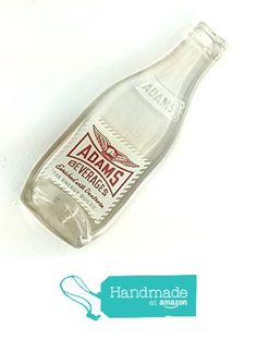 Vintage Adams Melted Soda Bottle Spoon Rest or Wall Hanging, New Kensington, Pittsburgh, PA from Mitchell Glassworks https://www.amazon.com/dp/B01N7H8D1E/ref=hnd_sw_r_pi_dp_27UwybB6RYZ76 #handmadeatamazon