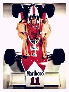 James Hunt in good company... McLaren F-1 Team, 1976