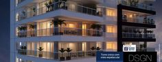 Design Campo Belo | Apt. 4 suites, 210 a 219m², 3 vagas.