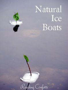 De aarde als leefruimte - natuurkundige verschijnselen onderzoeken Natural Ice Boats