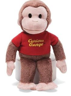 39054bfd9a curious george  10 Curious George Stuffed Animal