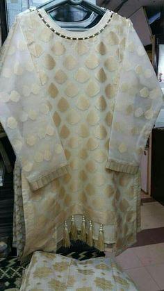 Designer Party Wear Dresses, Kurti Designs Party Wear, Indian Designer Outfits, Kurta Designs, Beautiful Pakistani Dresses, Pakistani Dresses Casual, Pakistani Dress Design, Sleeves Designs For Dresses, Dress Neck Designs