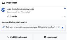 Lauantain Wikipedia-työpajassa tein itsekin uuden aluevaltauksen: päivitin ensimmäistä kertaa joulukuussa- lanseerattua suomenkielistä WikiMatkat (WikiVoyage)-sivustoa. Se kokoaa yhteen matkailuun liittyvää tietoa perehdy siihen jos suunnittelet omia lomamatkojasi.   http://ift.tt/2kKx5lb