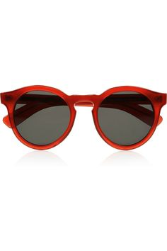 Illesteva Leonard 2 round-frame acetate sunglasses NET-A-PORTER.COM