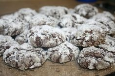 Paula Deen's Ooey Gooey Cookies made with a boxed cake mix. Fave. Cookie. Ever. They taste like donuts!