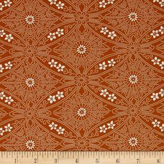 Designed by Parson Gray for Free Spirit, this fabric is perfect for quilting, apparel and home decor accents. Colors include orange and white.