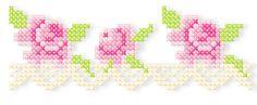 """Kreuzstich mit der Stickmaschine 13x8 / 5x7"""" Machine embroidered cross stitch"""