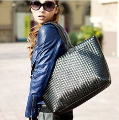 Hot!! famous popular ladies handbag Women's PU Leather Handbag5