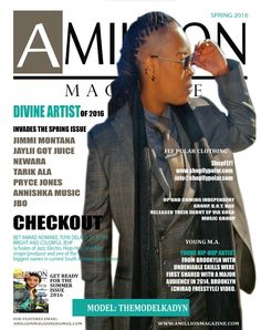 Shout out to @amillion_magazine and #prycejones #amillionmag #magazine #AGME #share #nyc #hiphop got your #issue